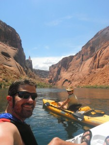 kayaking adventure in arizona