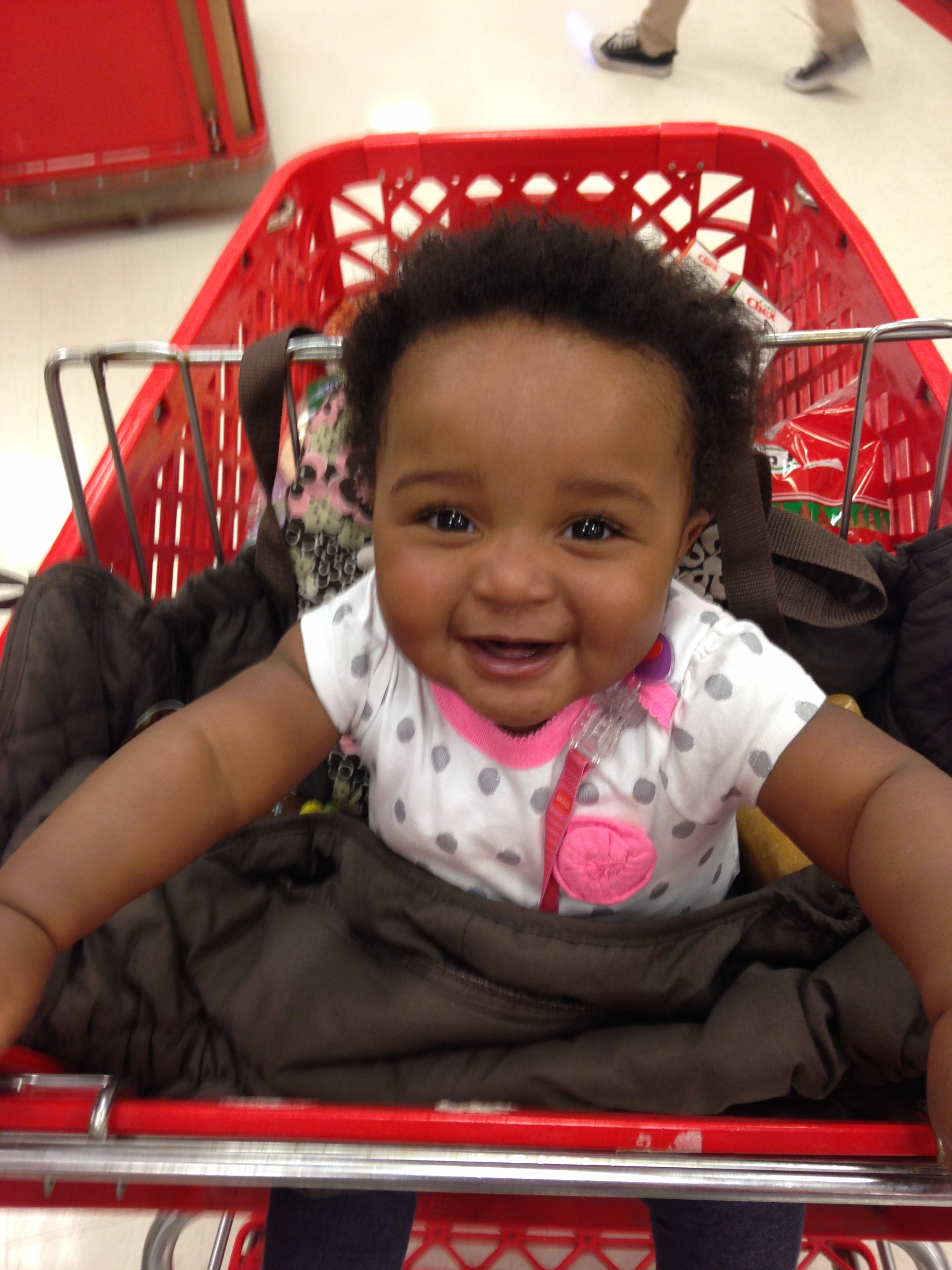Addy in Target